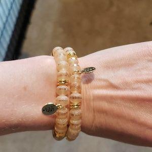 Bourbon and Boweties Kendley Stretch Bracelet Set